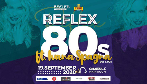 Reflex 80's Party ft. Ivana Spagna Live - 19th September 2020 at Gianpula
